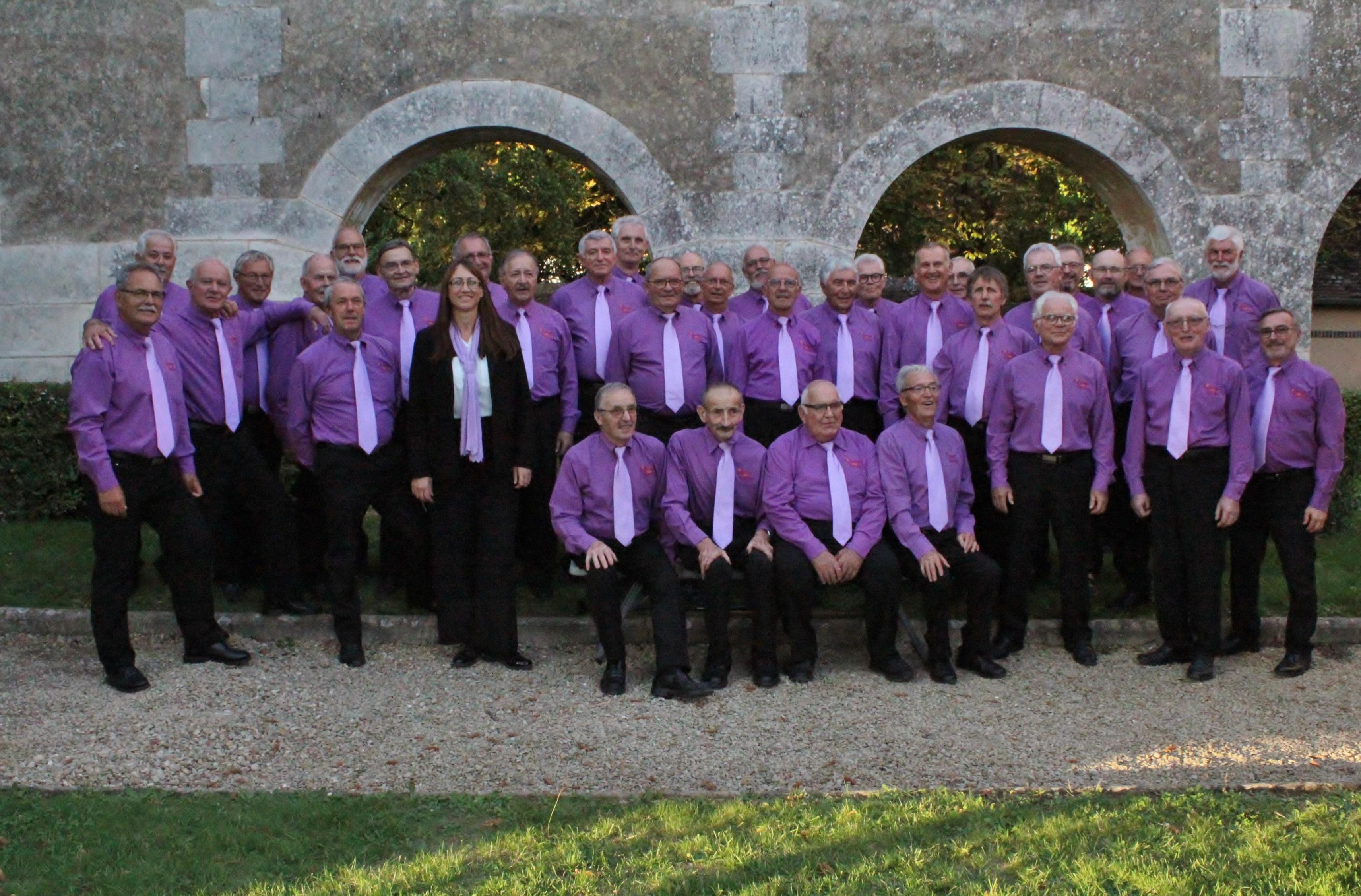 Envie de chanter dans un chœur d'hommes, venez essayer :   répétition tous les jeudis de 19h00 à 21h30